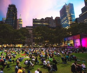 Picnic Performances in Bryant Park. Photo by Ryan Muir