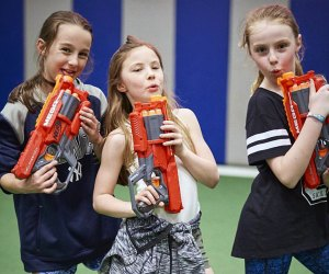 End your birthday party with an epic Nerf war at Sportset Kids. Photo courtesy of Sportset Kids