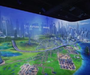 A 3-D look at Houston as Energy City/Photo courtesy of Houston Museum of Natural Science
