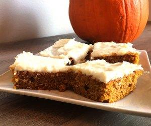 Kid-Friendly Pumpkin Recipes: Pumpkin Bars