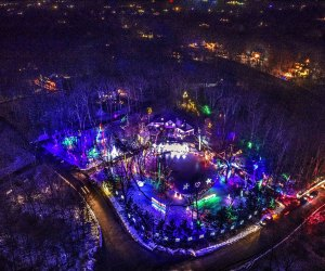 Head to Lagrangeville to see a holiday light display that made the Guinness Book of World Records! Image courtesy of ERDJAT