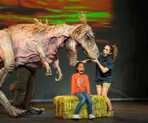Erth's Dinosaur Zoo Live puppet show is sure to thrill! Photo courtesy of the production