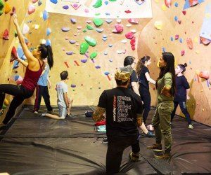 Get climbing together at a Generations Climbing class at Everyday Athlete. Photo courtesy of EA
