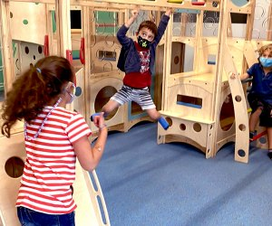 Exceptional Explorers offers open play as well as structured travel-themed classes.