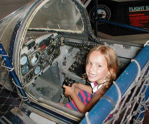 Thrill seekers will love the F-100 Simulator. Photo courtesy of Connecticut Office of Tourism