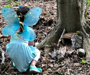 Look for evidence of magical creatures at the Fairy Festival at the Orange County Arboretum. Photo courtesy of Orange County Park