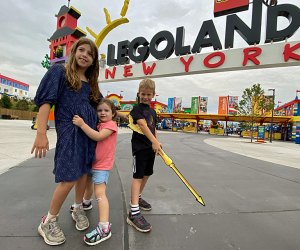 """Fall is the perfect time to visit the newly opened Legoland New York, and it's hosting a """"bricktastic"""" Halloween event, too. Photo by Rose Gordon Sala"""