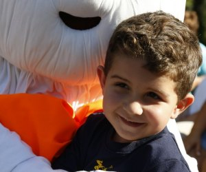 Enjoy fall family fun at Hicks Nurseries with Otto the friendly ghost. Photo courtesy of Hicks Nurseries