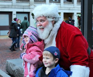 Take your Selfies with Santa. Photo courtesy of Faneuil Hall Marketplace