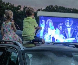 Old-fashioned movie fun. Photo courtesy of Farmington Polo Club