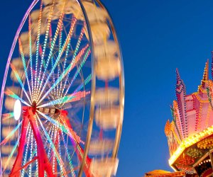 Carnival rides return to the Montgomery County Agricultural Fair. Photo courtesy of Visit Montgomery