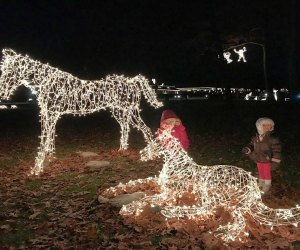 It's the first weekend for the Festival of Silver Lights in Meriden. Photo by Clementina Verge