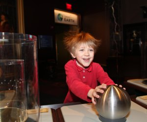 Kids will have hair-raising fun at Franklin Institute. Photo courtesy of Franklin Institute