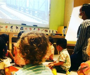 FIAF offers learning pod support for children as young as age 5. Photo courtesy of FIAF