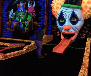 Have some spooky fun at Monster Mini Golf. Photo by Dore Duhaime