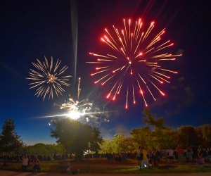 Chicago proper may be without a Fourth of July fireworks display in 2020, but plenty of suburbs are celebrating. Photo courtesy of Valparaiso Parks & Recreation