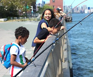 Go Fish Where To Go Fishing With Nyc Kids For Free Even If You Don T Have Gear Mommypoppins Things To Do In New York City With Kids