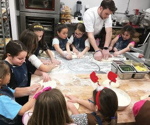 Create a homemade bread or pasta at The Flour Shoppe Bakery in Rockville Centre.
