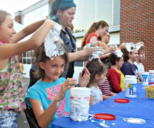 Celebrate the invention of Marshmallow Fluff with crazy fluffernutter activities at Somerville's Fluff Festival. Photo by Linda Gritz