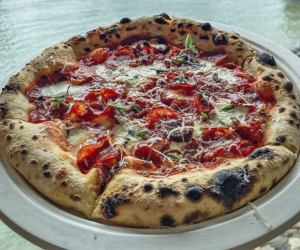 Head to Time Out Market for Fornino's delicious pizza and a lovely view of Manhattan from the Brooklyn waterfront. Photo courtesy of Fornino