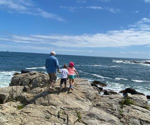 Walk the rocks at Fort Williams for views of Portland Head Light and the waves.