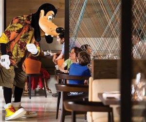 Goofy breakfast Four Seasons Resort Orlando