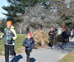 The Franklin Park Turkey Trot is family friendly. Photo courtesy of Franklin Park Coalition