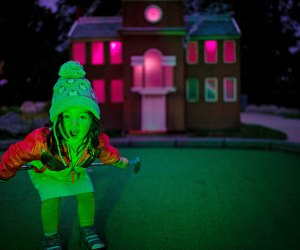Thrill to Spooky Mini Golf at Franklin Square. Photo courtesy of Historic Philadelphia