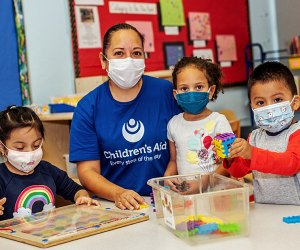 The Children's Aid Society provides free and low-cost after-school classes to kids in New York City.
