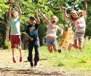 Free Spirit Nature Camp in Orange County offers van transportation for an additional fee.