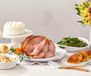 Ham and all the fixings are available online from Fresh Market. Photo courtesy of Fresh Market