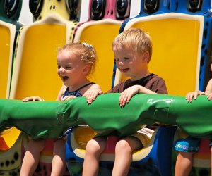 Get hopping on the Frog Hopper. Photo courtesy of Quassy Amusement & Waterpark