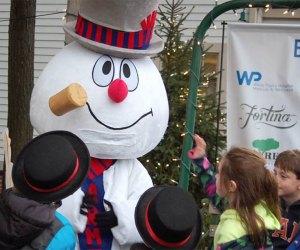 Armonk celebrates Frosty Day on Sunday, December 1! Photo ccourtesy of Frosty Day