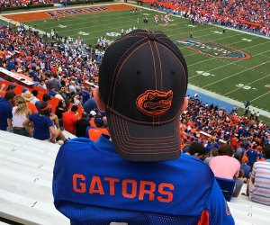 Cheer on the Gators in Gainesville, FL! Photo by the author