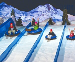 Christmas at Gaylord Palms offers snow tubing and more. Photo courtesy of Gaylord Palms