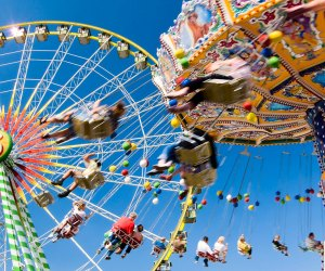 Enjoy rides, games, food, live music and daily attractions at the Georgia State Fair. Photo courtesy of the fair