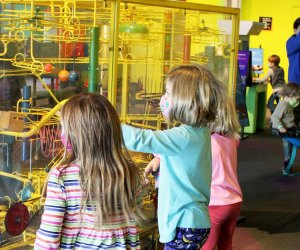 Inquisitive kids will delight in the Maryland Science Center. Photo courtesy of the center