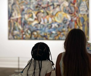 Take in a Jackson Pollock or one of the other masters when The Met reopens Saturday, August 29. Photo by the author
