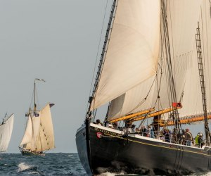 Get up close and personal with beautiful ships from near and far. Gloucester Schooner Fest, Photo courtesy of discovergloucester.com