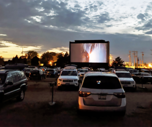 See a movie in your car at Golden Age Cinemas. Photo courtesy of the cinema