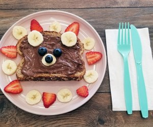 Nutella toast awaits at Good Day Play Cafe