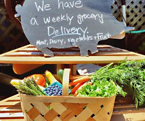 Get your weekly delivery of farm fresh goods from Goodale Farms. Photo courtesy of the farm