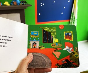 Step inside Margaret Wise Brown's beloved children's book, Goodnight Moon, at a new gallery exhibit at Fort Makers.