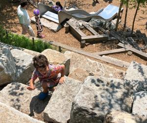 Slide Hill boasts NYC longest playground slides