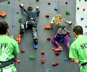 Learn self-confidence and build strength while climbing at the Gravity Vault.