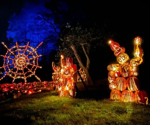 The Great Jack O'Lantern Blaze opens its 2020 season Friday, September 18. Photo by Susan Miele