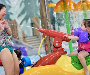 Parents get in on the fun at Great Wolf Lodge. Photo courtesy of Great Wolf Lodge Indoor Water Park