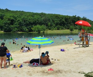 Greenbrier State Park in Maryland is a swimmer's delight. Photo by Candy Thomson, Natural Resources Police