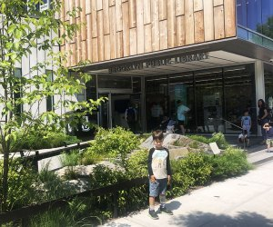 The Greenpoint Public Library and Environmental Center is striking indoors and out.