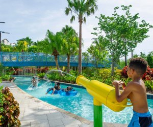 Be prepared for water fun at the Grove Resort. Photo courtesy of the resort